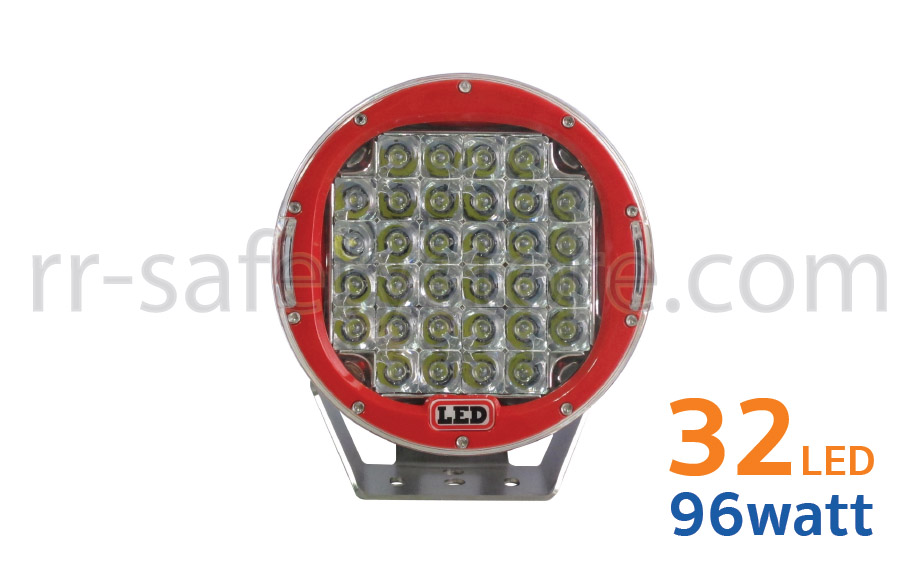 ไฟ LED 12V ติดรถยนต์ OFF ROAD 96W