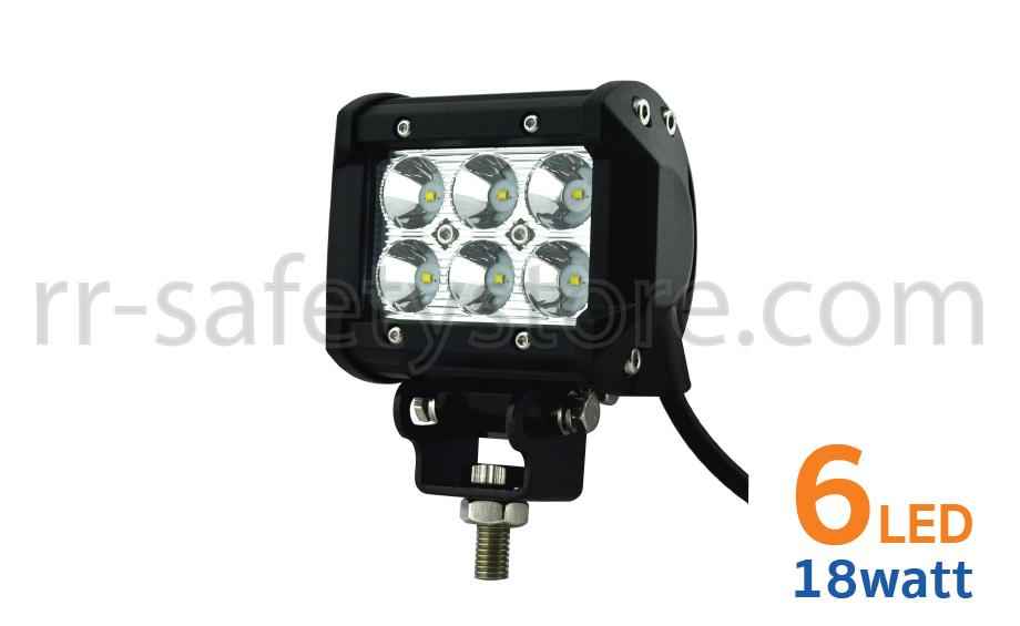 LED off road Light bar 18W