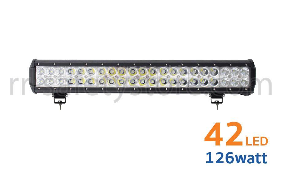 ไฟสปอร์ตไลท์ LED Light Bar ติดรถยนต์ 4x4 42led 126W