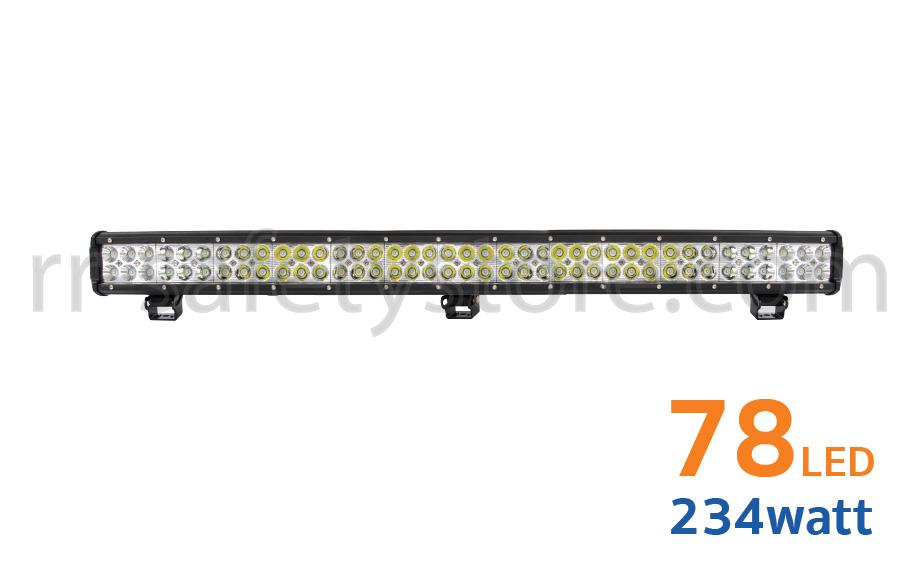 ไฟสปอร์ตไลท์ LED Light Bar ติดรถยนต์ 4x4 72led 234W
