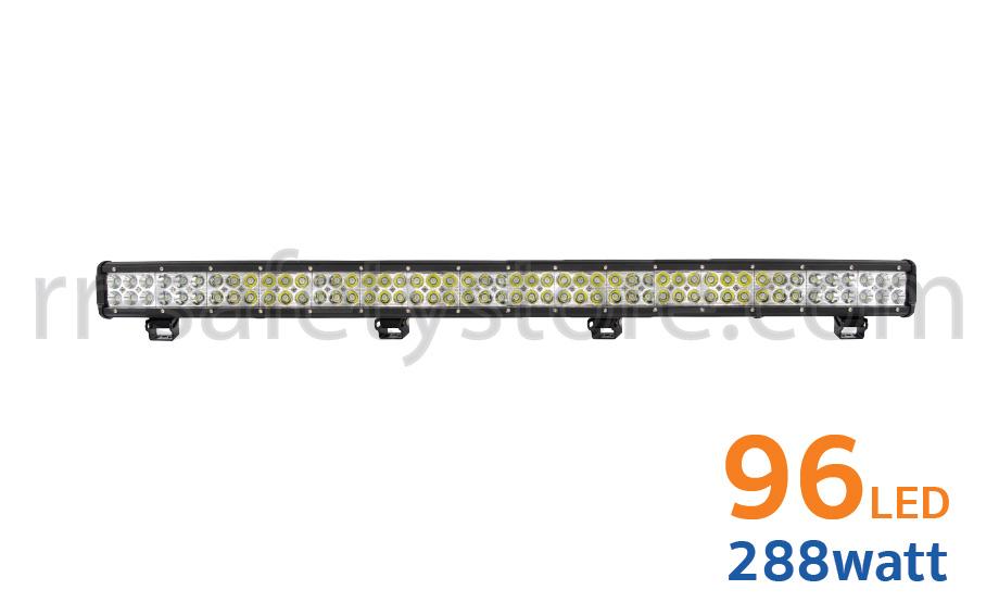 ไฟสปอร์ตไลท์ LED Light Bar ติดรถยนต์ 4x4 96led 288W